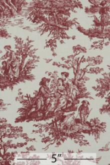 Cotton Toile Print0
