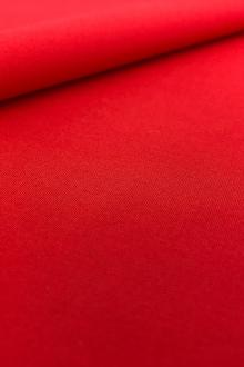 Imported Cotton Poplin in Red0