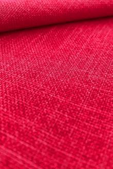 1207e443843 Linen Look Polyester in Fuchsia