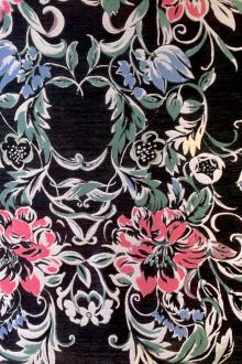 19e5dd02acd Silk blend Jacquard with large Floral
