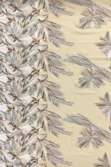2a9cf45c6de5 REDUCED Embroidered Silk Chiffon
