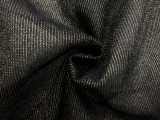 Metallic Nylon Tulle in Nero0